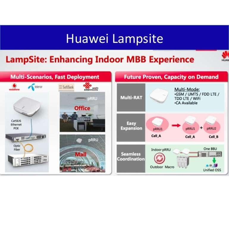 Huawei remporte le prix de la meilleure infrastructure mobile avec sa solution LampSite au Mobile World Congress 2015