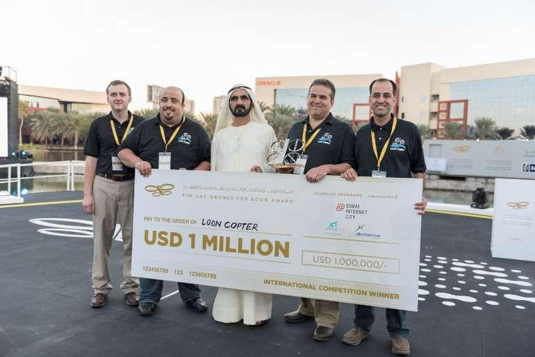 « UAE Drones for Good Award » et « UAE AI & Robotics Award for Good » annoncent les lauréats des 2 millions $ de prix