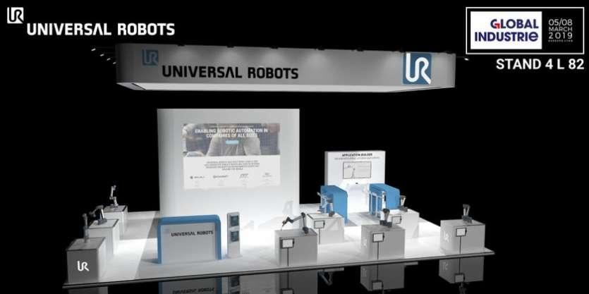 Universal Robots exposera au salon Smart Industries ses dernières applications de cobotique industrielle autour de sa gamme e-Series